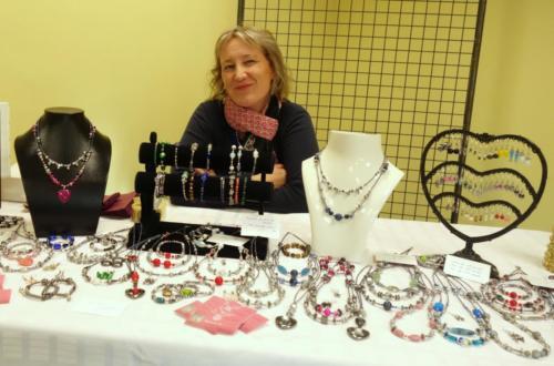 Sophie Huriaux et ses bijoux
